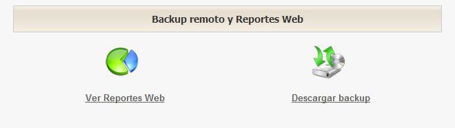 Backup remoto. Clic para ampliar.